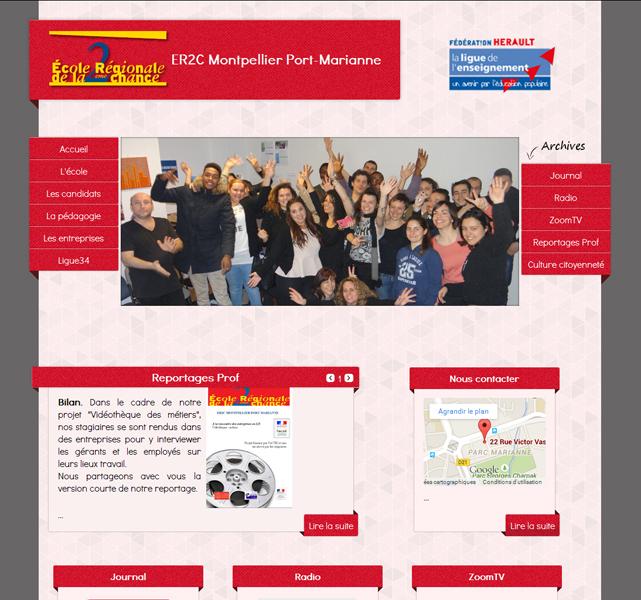 Site web de l'er2c